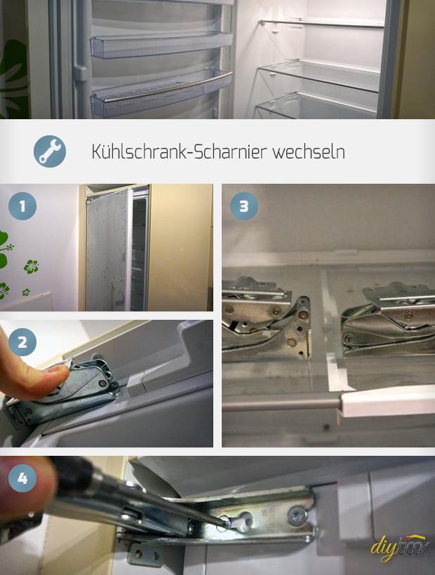 Kuhlschrank Scharnier Wechseln Anleitung Diybook Ch