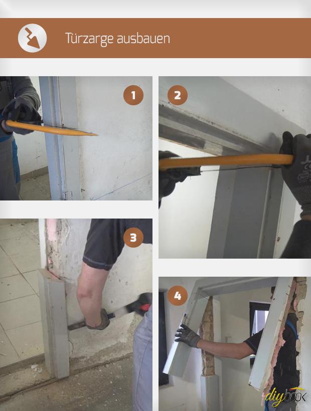 Berühmt Türzarge ausbauen - Anleitung & Tipps @ diybook.ch PF94
