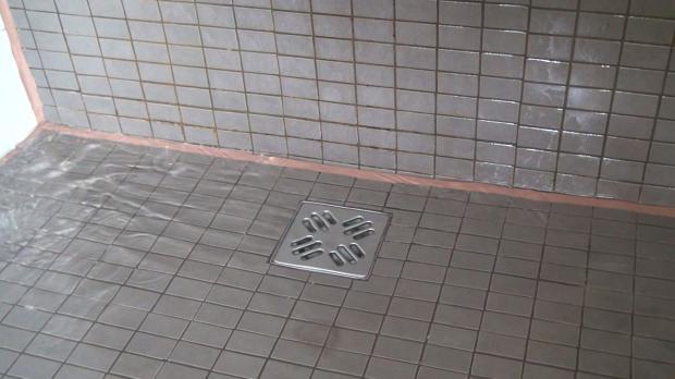 Verstopfter Duschabfluss