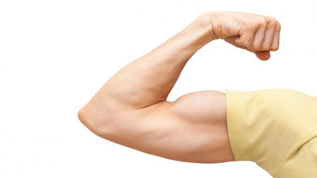 Für die Muskelhypothek die Muskeln spielen lassen