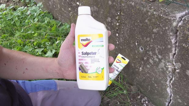 Hilfsmittel Nr. 1: Salpeterreiniger