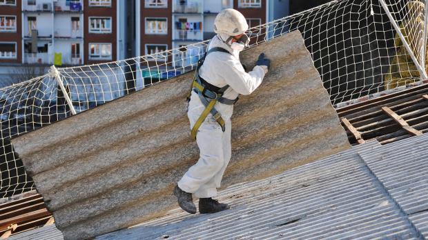 Schwierige Entsorgung von Asbest