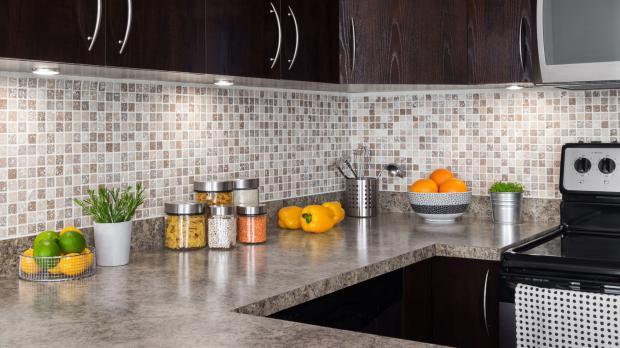 Küchen-Arbeitsplatte aus Granit