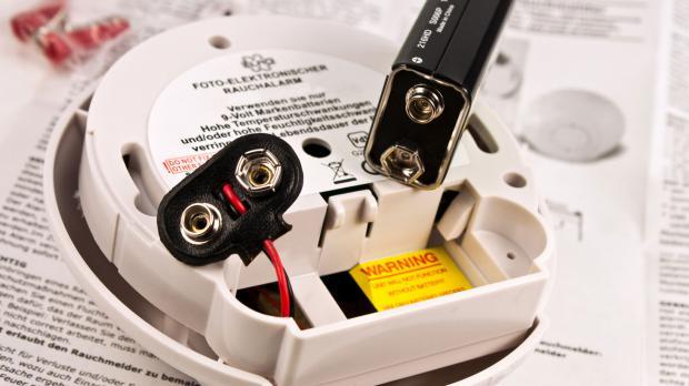 Rechtzeitig Batterien wechseln