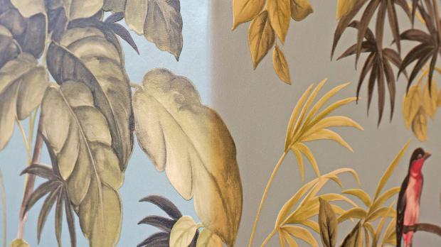 Vinyl Tapeten Auf Raufaser : Innenecken tapezieren – Anleitung & Tipps vom Maler Tapezieren