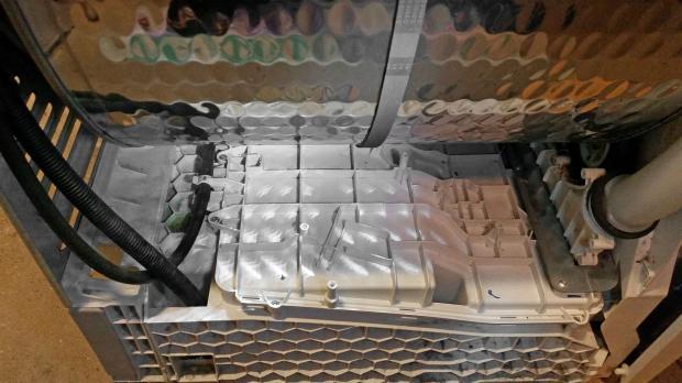 Kondensationseinheit im Wärmepumpentrockner