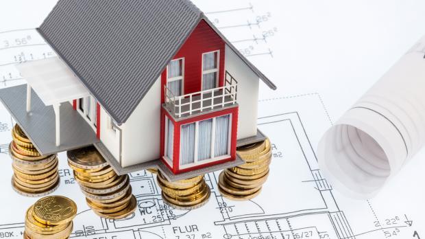 Haus auf finanziellem Fundament