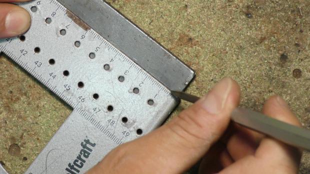 Kernloch einmessen