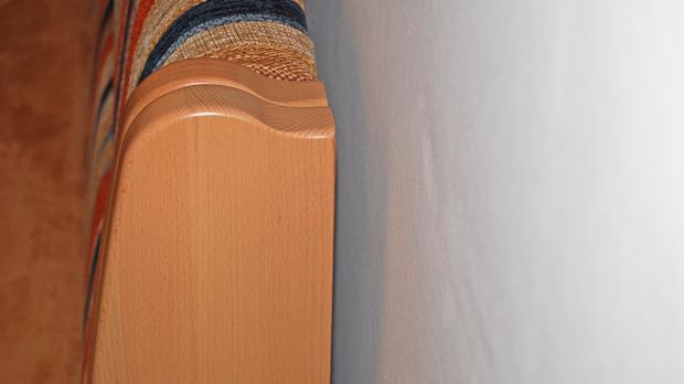 Abstand halten zwischen Möbeln und Wand