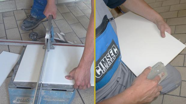 Fliesen schnittkanten schleifen wohn design - Fliesen schneiden lassen ...