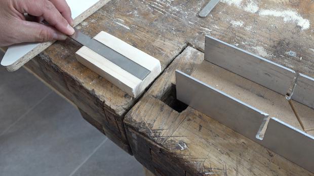 Stahlleiste ablängen
