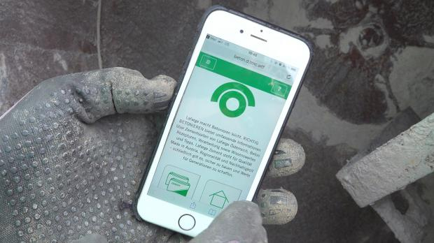 App von Lafarge befragen