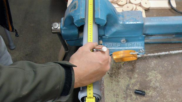 Rohre einmessen