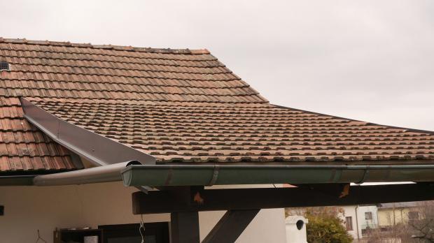 Fertige Terrassenüberdachung