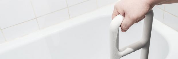 barrierefreier Zugang zur Badewanne