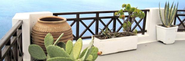 Balkon-Brüstung aus Holz