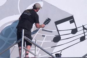 Fassadenmalerei mit Schablonen – Selber Fassaden gestalten