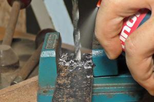 Richtig bohren in Metall