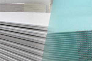 Arten von Gipskartonplatten - Dicke, Größe und Gewicht