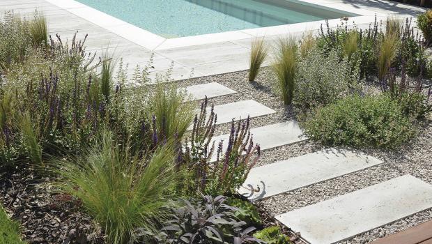 Clever Kombiniert Gestalten Mit Betonsteinen In Bauen Garten