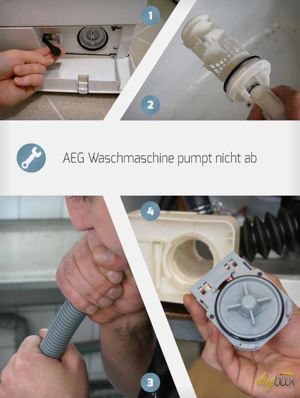 Aeg Waschmaschine Pumpe Wechseln Reparatur Anleitung Diybook Ch