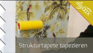 Embedded thumbnail for Strukturtapete tapezieren