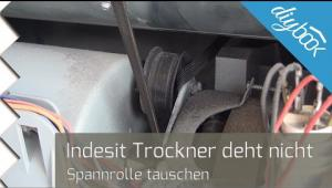 Embedded thumbnail for Indesit-Trockner: Spannrolle wechseln