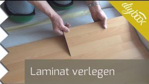 Embedded thumbnail for Laminat schwimmend verlegen - Video-Anleitung