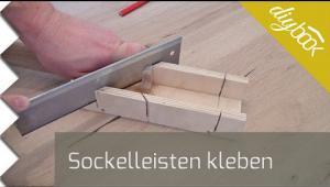 Embedded thumbnail for Sockelleisten kleben