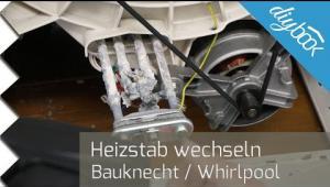 Embedded thumbnail for Waschmaschine heizt nicht – Heizstab wechseln