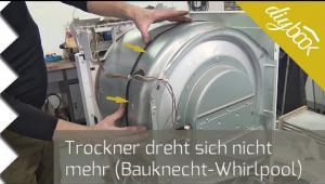 Embedded thumbnail for Trockner dreht sich nicht mehr: Keilriemen wechseln