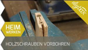 Embedded thumbnail for Holz vorbohren: Der feine Unterschied