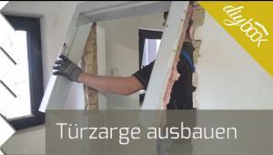 Embedded thumbnail for Alten Türrahmen ausbauen - Holzzarge entfernen
