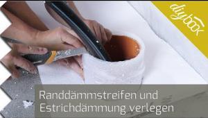 Embedded thumbnail for Estrichdämmung verlegen