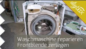 Embedded thumbnail for AEG Waschmaschine - Frontblende zerlegen
