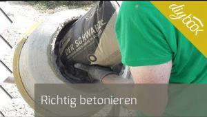 Embedded thumbnail for Richtig betonieren