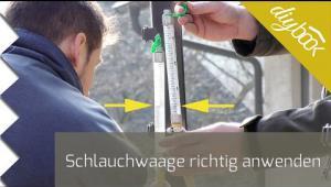 Embedded thumbnail for Schlauchwaage richtig anwenden