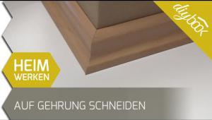 Embedded thumbnail for Sockelleisten auf Gehrung schneiden