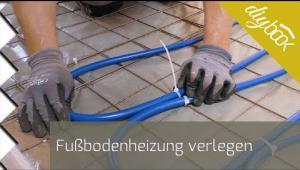 Embedded thumbnail for Fußbodenheizung verlegen