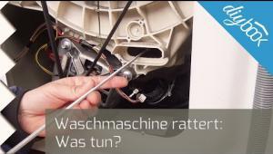 Embedded thumbnail for Waschmaschine rattert beim Schleudern