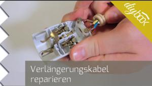 Embedded thumbnail for Verlängerungskabel reparieren