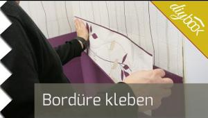 Embedded thumbnail for Bordüre kleben