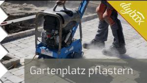 Embedded thumbnail for Gartenplatz pflastern