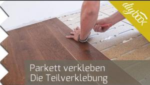 Embedded thumbnail for Parkett verlegen - Video zur Teilverklebung