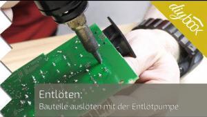 Embedded thumbnail for Bauteile entlöten mit der Entlötpumpe