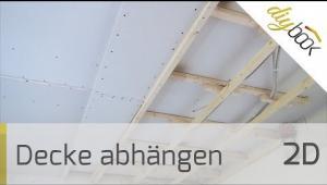 Embedded thumbnail for Zimmerdecke abhängen