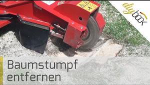 Embedded thumbnail for Baumstumpf entfernen - Mit der Baumstumpffräse zum Erfolg