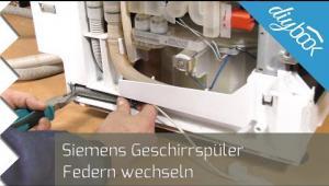 Embedded thumbnail for Geschirrspüler: Türfeder tauschen