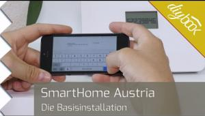 smarthome raumthermostat montieren video anleitung. Black Bedroom Furniture Sets. Home Design Ideas