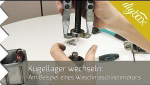Embedded thumbnail for Waschmaschine: Kugellager wechseln